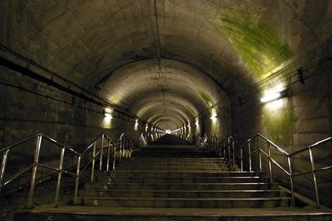 土合駅の写真